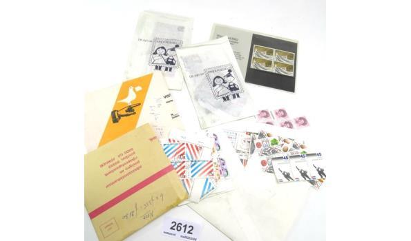 Partij postzegels