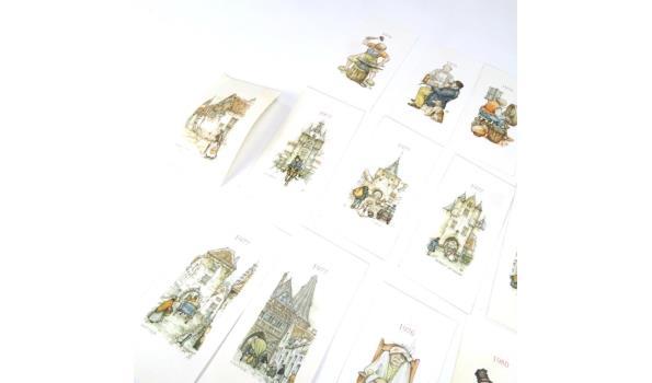 Verzameling prentjes Anton Pieck