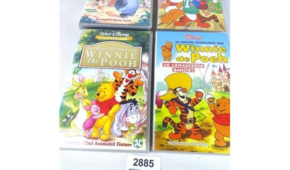 4 vintage kinder VHS banden