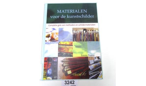 Materialen voor de kunstschilder