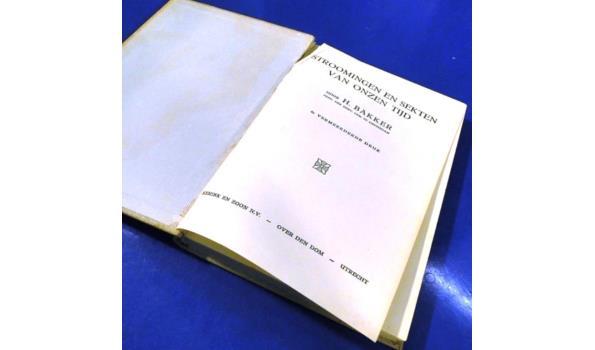 Stroomingen en sekten van onzen tijd (1933(