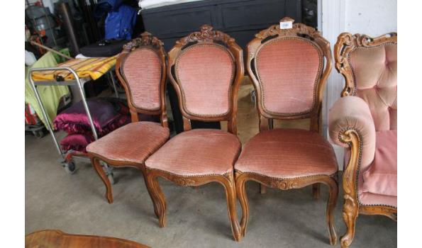 Barok stoelen - 3 stuks