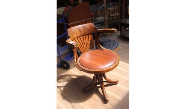 Thonet stijl bureaustoel