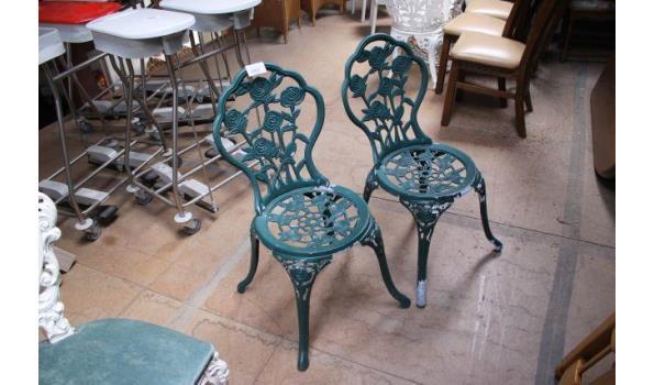Franse Bistro stoelen - 2 stuks