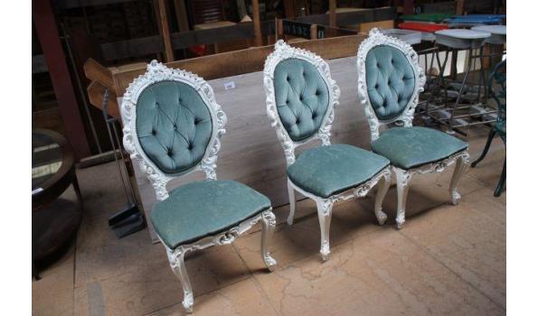 Barok stoelen - 4 stuks