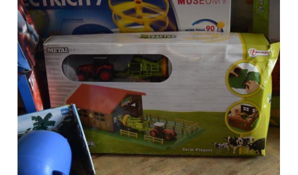 Partij speelgoed o.a. My little train & Farm playset