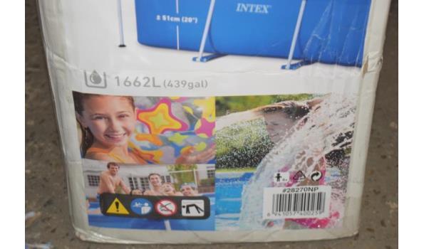 Intex zwembad - 220x150x60cm