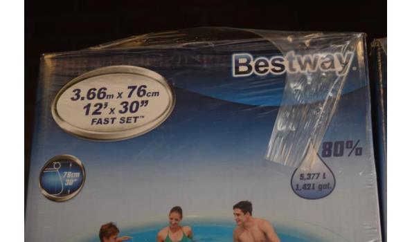 Bestway zwembad excl. pomp - 366x76cm