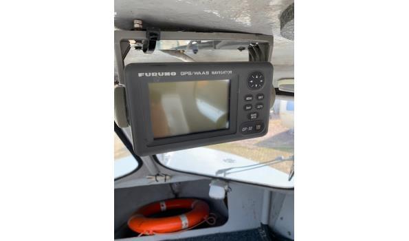 Damen Polycat 600 polyester haven/patrouille boot incl. trailer met kenteken