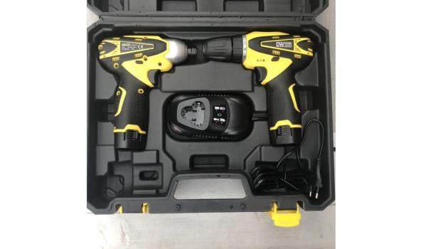 DW PowerTools Coreless Drill Combo