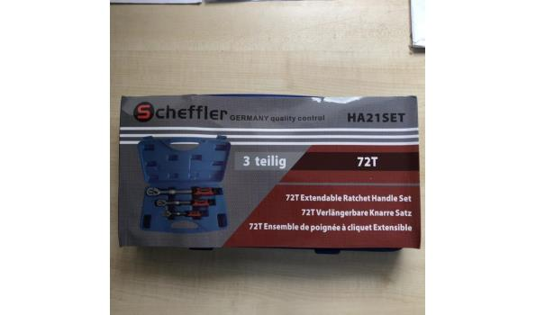 Scheffler 3-delige uitschuifratel set