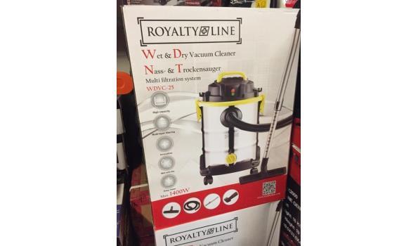 Royalty Line WDVC-25 Nat en droog stofzuiger 1400W