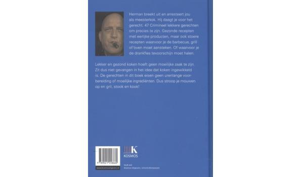 Herman de Blijker - Herman Breekt Uit (kookboek) incl. ovenwant en short