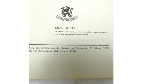 Handboek voor de soldaat der geneeskundige troepen (1952)