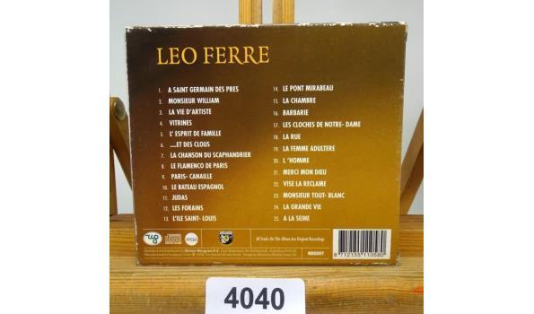Leo Ferre. 25 Chansons