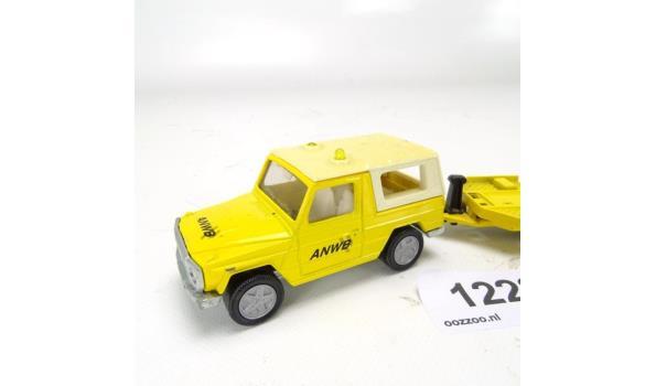 Siku ANWB jeep met autolader