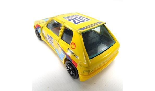 Burago Peugot 205 turbo 16