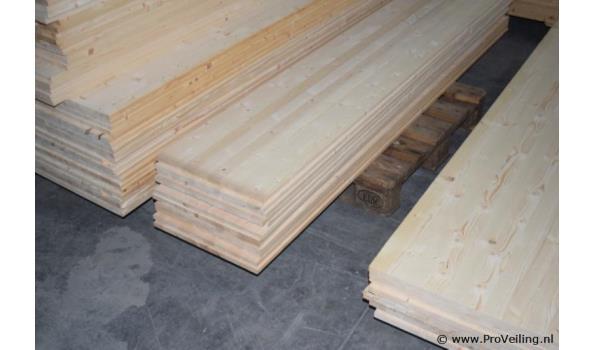 Grenen houten planken - 200x40x1,5cm - aantal 2 stuks