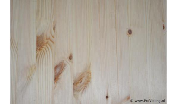 Grenen houten planken - 235x60x1,5cm - aantal 5 stuks