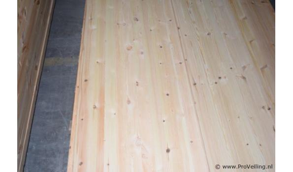 Grenen houten planken- 200x50x1,5cm - aantal ca. 5 stuks