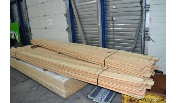 Siberisch lariks hout - ca. 30m2