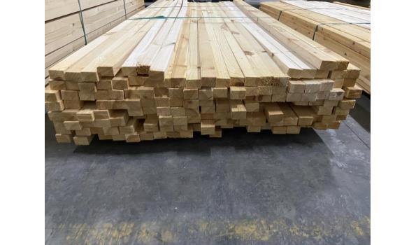 Partij grenen panlatten- 29x45x260cm