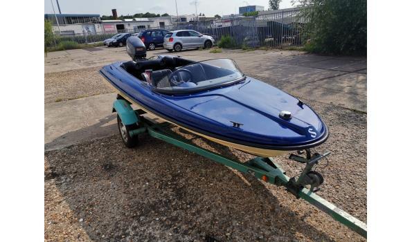 Polyester tour-/speedboot