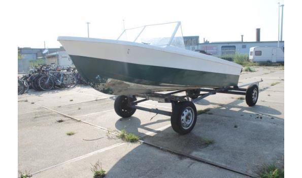 Polyester speedboot