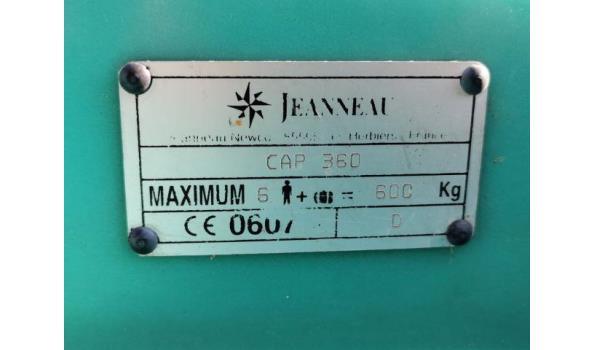 Jeneau PVC brandweer Bootje