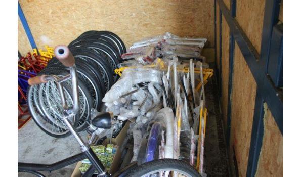 Partij van 15 fietsen - model cirkel
