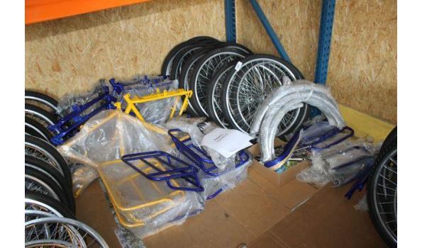 Partij van 7 cargo bikes