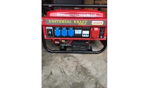 Powertech Keystart benzine generator
