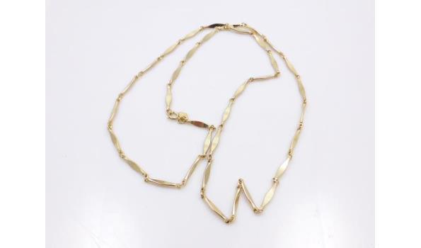 Sarah Coventry goudkleurig collier