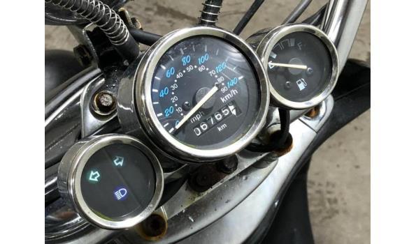 Retro motorscooter / 34-MF-JG / BWJ 2011 / 125 CC