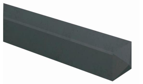 Hoekpaal beton