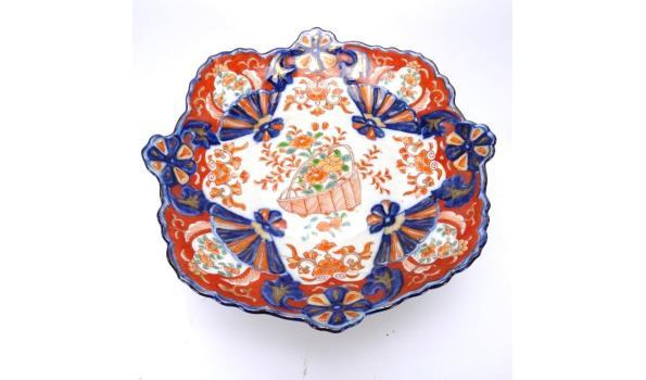 Antieke Satsuma voetschaal