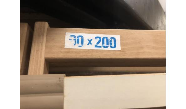Elektrische lattenbodem 90x200cm