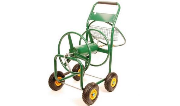Tuinslangwagen Robuust 4 wiel