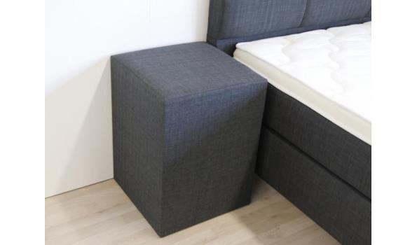 Boxspring Miami 2.0, 180x220 cm, XXL, taupe