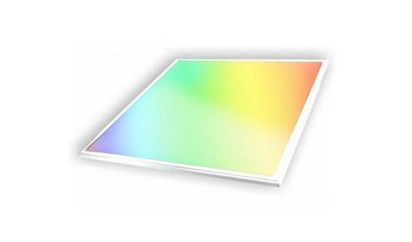 Led Paneel RGB, 60x60cm, dimbaar, afstandbediening, 4x