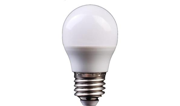 LED lamp E27, 3 watt, warmwit, 5x