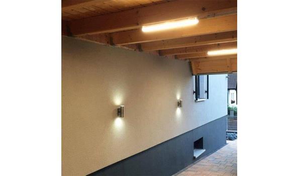 LED Balk Elegant met Spatwaterdicht armatuur 60cm, 2x