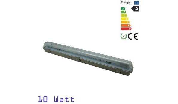 LED Balk Robuust T8 Spatwaterdicht armatuur, 60cm, 6x