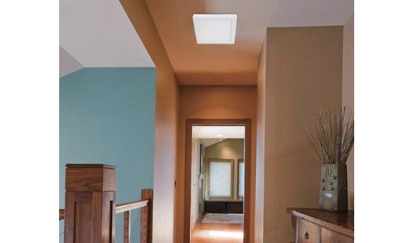 Plafonierre LED vierkant 2x