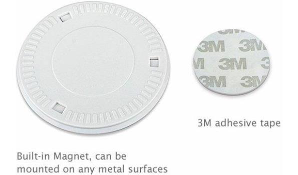 Led Lamp 360 graden draaibaar, draadloos, 2x