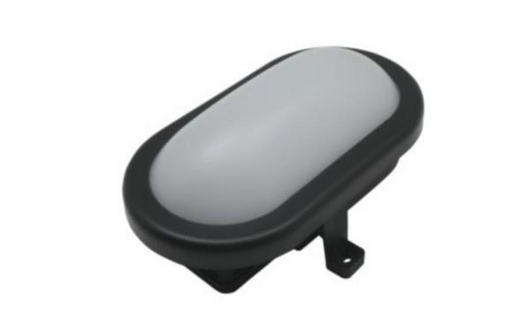 Bulleye LED, zwart, 8x