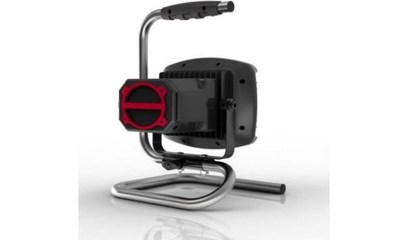 Bouwlamp LED met Blue-tooth speaker, 2x