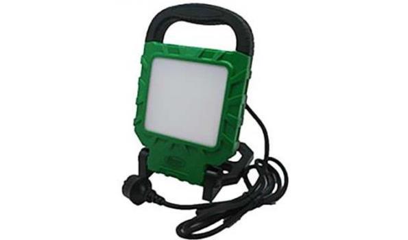 LED Werklamp, 220 Volt, 20 watt, 4x