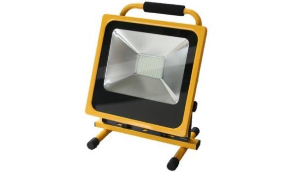 Werklamp Oplaadbaar LED LI-ion 50 watt, 2x