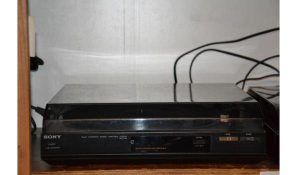 Sony platenspelers - aantal 2 stuks